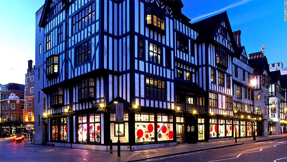 London prices can destroy your will to live. But get over the sticker shock and you'll see London shopping at its best. Bold, eclectic and international, Liberty department store will inspire you to buy things you never knew existed.