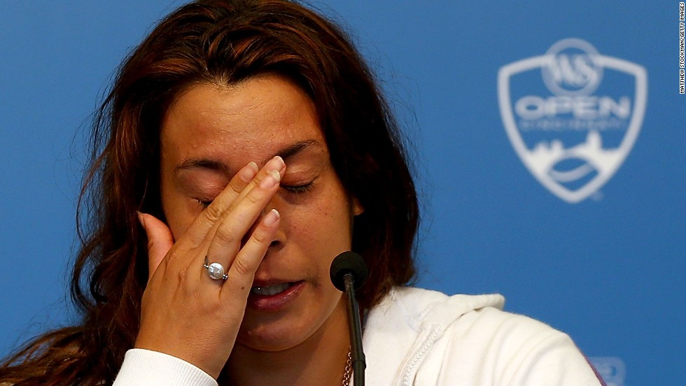 "It was a different Bartoli in Cincinnati in August when she abruptly quit tennis due to injuries. ""My shoulder was on fire, my back,"" she said. ""I remember telling myself, 'What are you doing here? What's the point of being in so much pain?'"""