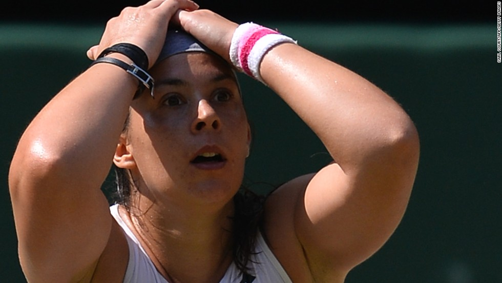 A month earlier, Bartoli captured the title at the All England Club in southwest London and joined Andy Murray in the winners' circle. She didn't drop a set throughout the fortnight.