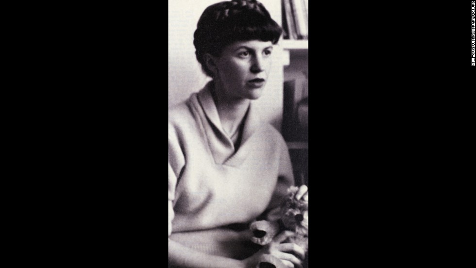 The American poet Sylvia Plath is shown in 1961. She took her own life on February 11, 1963.