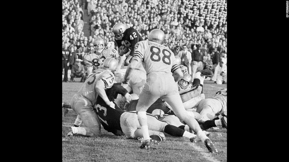 CBS used instant replay for the first time during the Army-Navy game from Municipal Stadium in Philadelphia on December 7, 1963.