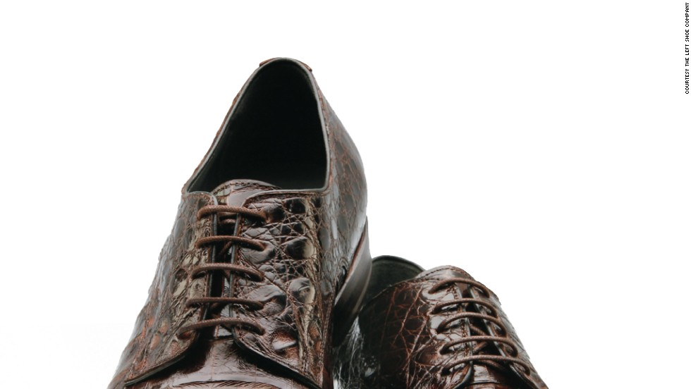 Shoes cost around $640, which is about half as much as you would expect to pay at a traditional shoemaker.