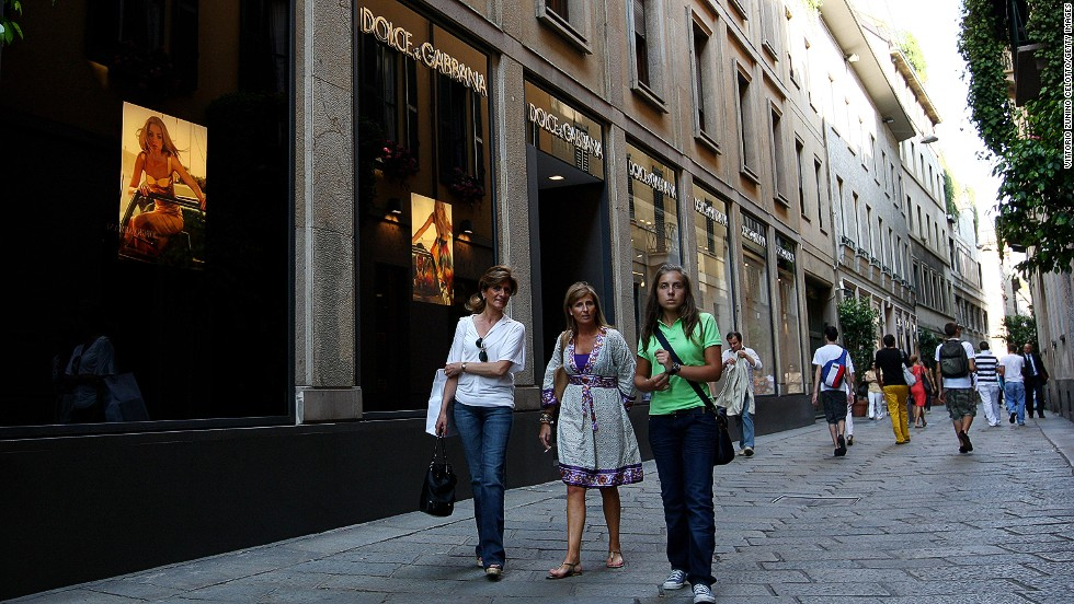 Home to what many fashion industry insiders consider the world's most important fashion district, the Quadrilatero della Moda, Milan gave the world Prada, Versace, Dolce & Gabbana and many more high-fashion brands.