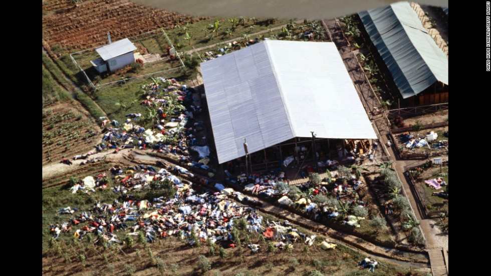The compound of the People's Temple cult.