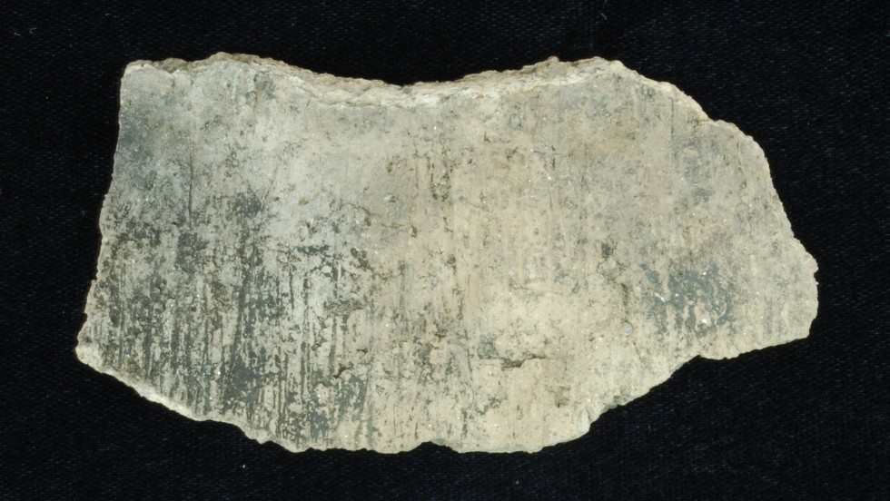 1700s: Chattahoochee Brushed pottery, a ceramic type used by the Seminoles.