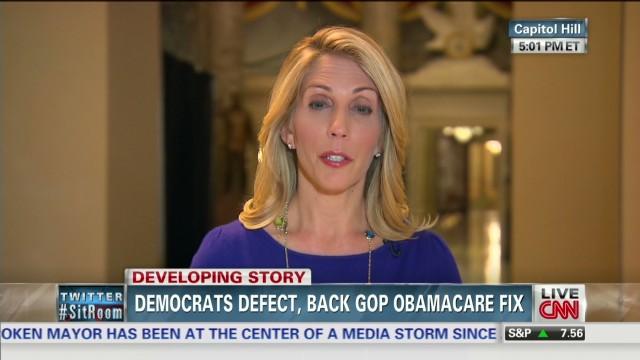 Democrats defect, back GOP Obamacare fix