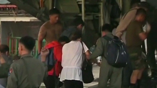 Typhoon Haiyan: Eight days later