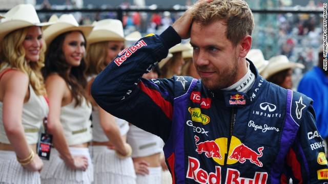 Sebastian Vettel takes the plaudits after claiming pole for the United States Grand Prix in Texas.