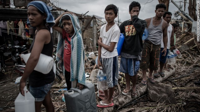 Need for aid urgent in Philippines