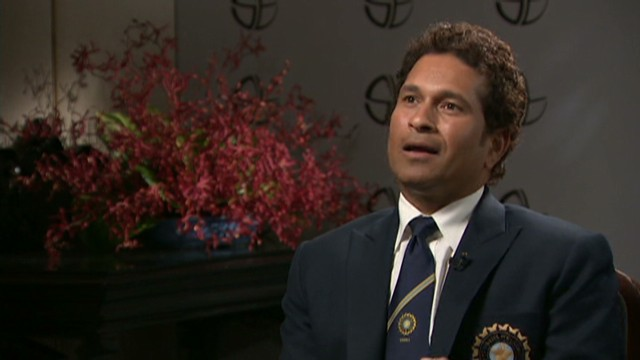Cricket star Tendulkar talks retirement
