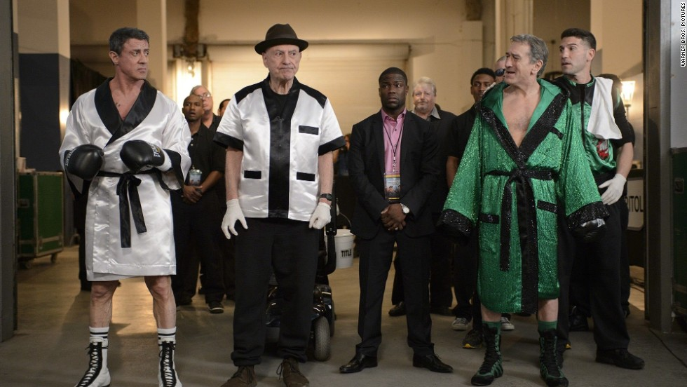 "Starring the winning pair of Robert De Niro and Sylvester Stallone, ""Grudge Match"" is a sporting drama about two boxing rivals who come out of retirement for one last face-off in the ring. (Release date: December 25)"