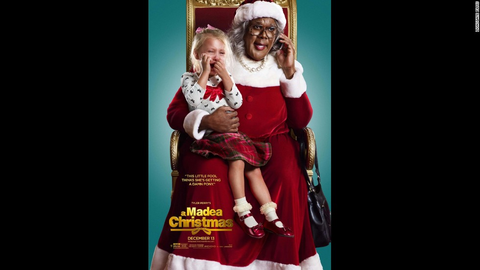 "Tyler Perry's Madea is in the holiday spirit this year, as the tart-tongued elder returns with ""Tyler Perry's A Madea Christmas."" Also starring Chad Michael Murray, Tika Sumpter and Kathy Najimy. (Release date: December 13)"