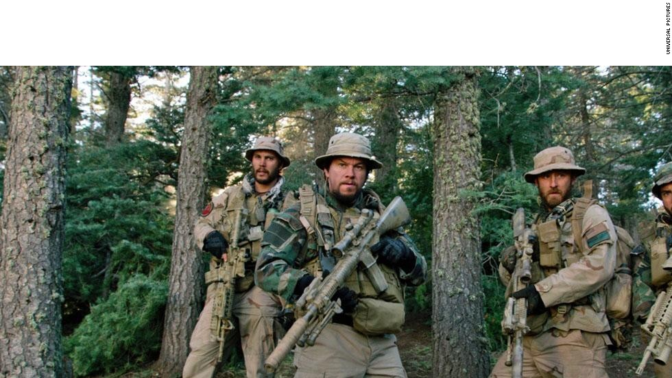 "Based on an actual military mission, ""Lone Survivor"" tells the story of a crew of Navy SEALs who find themselves serving on a capture or kill hunt for a Taliban leader on what becomes a deadly operation. Film stars Mark Wahlberg, Emile Hirsch, Taylor Kitsch, Alexander Ludwig and Ben Foster. (Release date: Select cities on December 27 before going wide January 10.)"