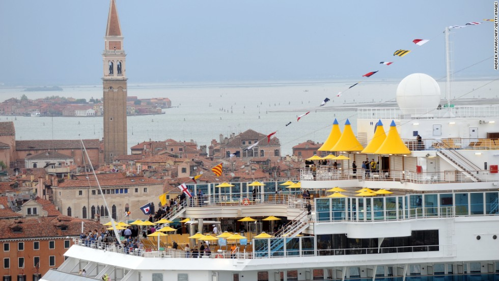 Venice is one of the most popular and picturesque places for cruise passengers to visit. The Italian city is renowned for its architecture, waterways and artistic splendor.