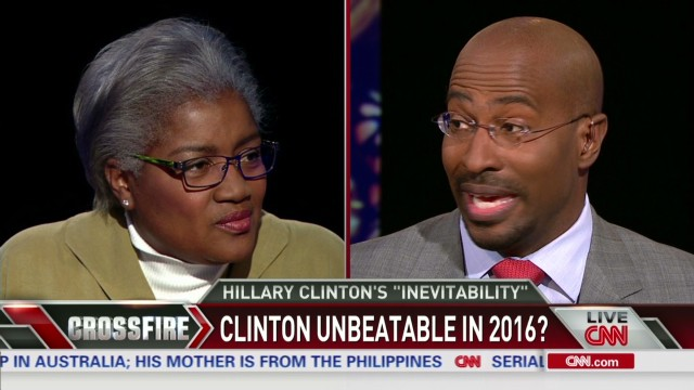 Brazile on Hillary: 'She's like Elvis'