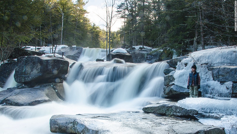 "Diana's Baths are a series of small waterfalls on the edge of Bartlett, a town in New Hampshire. ""Between the ledges, pools, and rock formations there's endless beauty for the curious mind and hungry eye,"" says photographer Shawn Brace. <strong>More: <a href=""http://edition.cnn.com/2013/09/25/travel/10-things-u-s-does-better/""><strong></strong>10 things the U.S. does better than anywhere else</a></strong>"