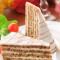 Hungary foods - eszterhazy cake