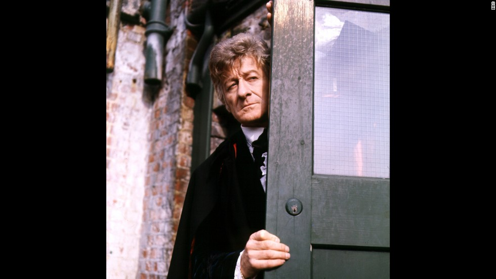 Jon Pertwee's Third Doctor dove headlong into the 1970s. He was the closest to James Bond of any of the Doctors, earthbound and a big fan of traveling in flashy vehicles.