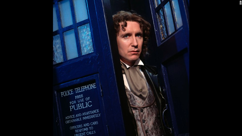 "Up until recently, the Eighth Doctor's adventures on screen lasted all of one TV movie, a failed attempt to resurrect the series on Fox. Paul McGann returned on a ""Webisode"" in 2013, explaining what became of his character when he regenerated."