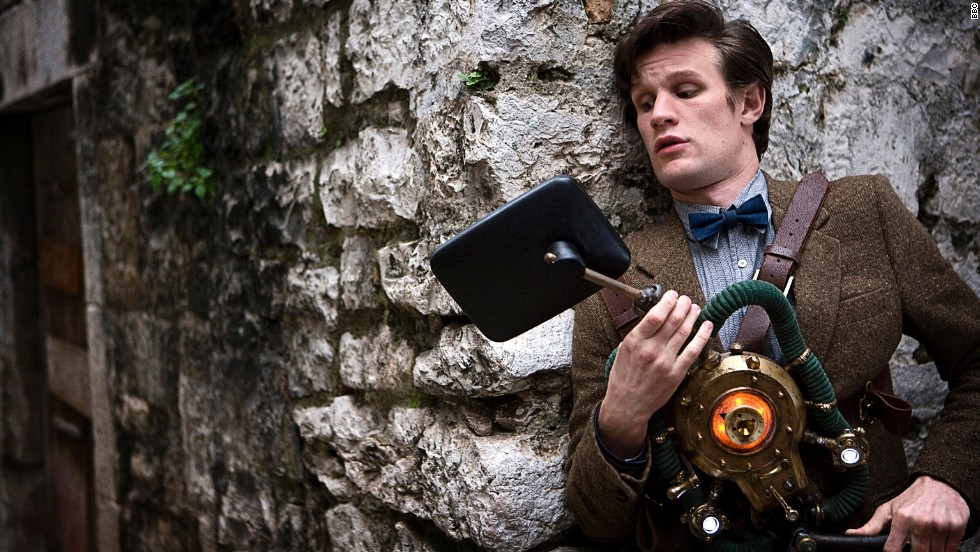 "Matt Smith brought a youthful appearance to the Eleventh Doctor starting in 2010. His penchant for wearing bow ties and fezzes and dancing like a ""drunken giraffe"" played against the fact that he was determined to save the day, and his companions, no matter what."