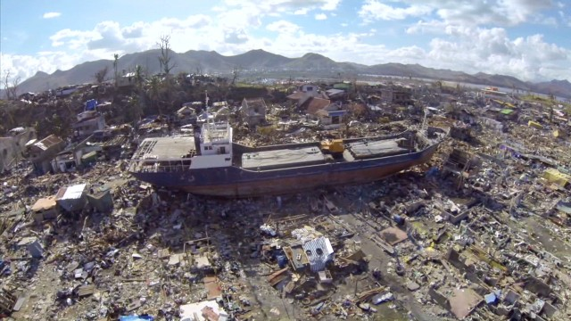 Typhoon Haiyan leaves 'City of Ghosts'