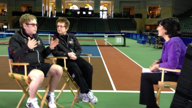 Part 3: Billie Jean King & Elton John