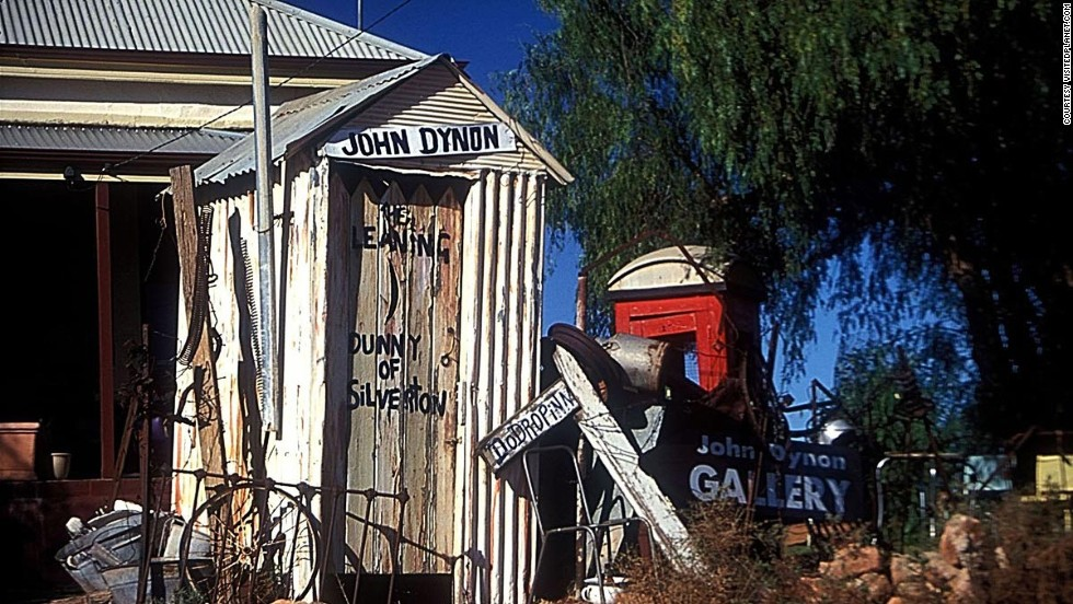 "In Australia, the outhouse is called a ""dunny,"" and the few that survive to day have evolved into tourist attractions. The Leaning Dunny (pictured) comes with its own art gallery and is located in a former gold-mining town which is often featured in commercials and movies for its rugged landscape. <a href=""http://travel.cnn.com/sydney/life/long-drop-australias-outback-dunnies-291535"" target=""_blank"">Read more: The long drop: Australia's outback dunnies</a>"