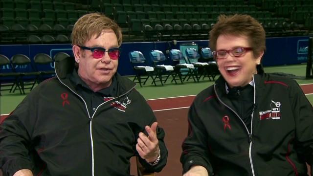 Elton John on R&B crossover