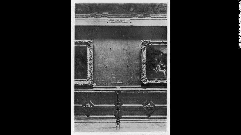 It would be 24 hours before someone noticed the painting was missing. Artwork was often removed to be photographed or cleaned.