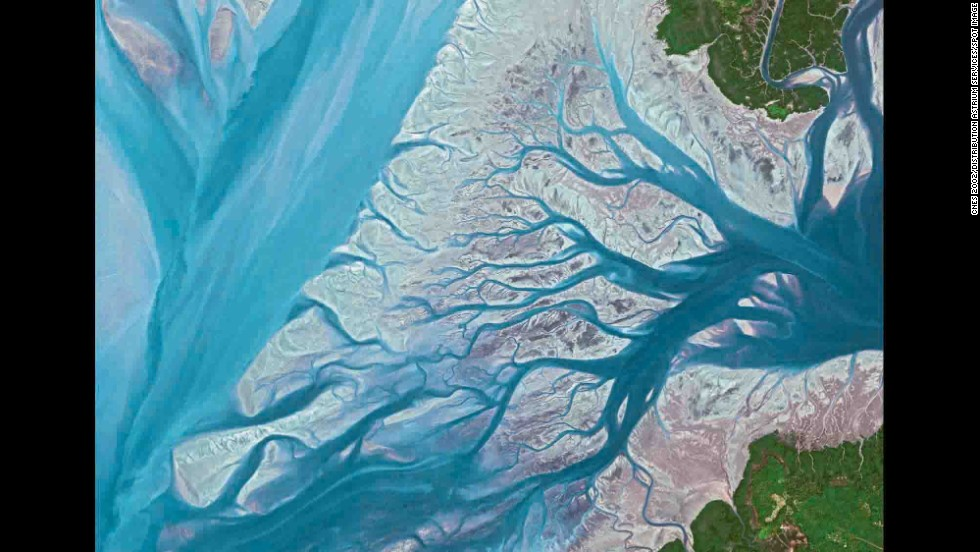 Geba River, Guinea-Bissau.