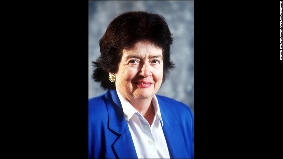 "Patricia Wald was ""the first woman appointed to the United States Circuit Court of Appeals for the District of Columbia, and served as Chief Judge from 1986-1991,"" the White House said."