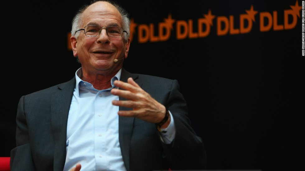"Daniel Kahneman, a professor at Princeton University, won the Nobel Prize in economics in 2002 for his work in applying ""cognitive psychology to economic analysis,"" the White House said."