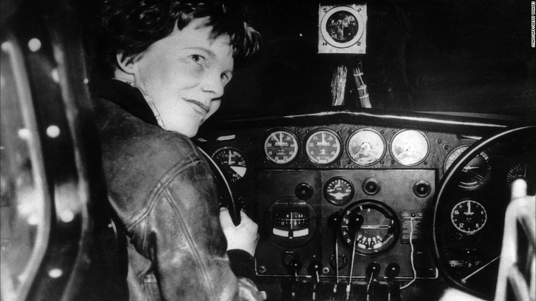 Amelia Earhart is perhaps one of the most famous female aviators of all time. In 1928, she became the first woman to fly the Atlantic as a passenger, and in 1932, the first to make the flight solo.