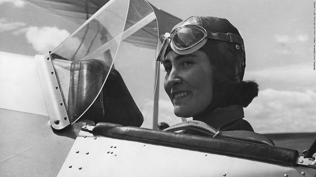 Female aviation history in the region extends as far back as the '30s. <br />Pilot Sahavet Yslamazturk (pictured) was one of a small group of Turkish women aviators trained at the Turkkusu ('Turkishbird') Flight School.