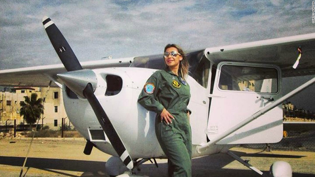 Alia Twal is one of 20 female pilots in Jordan, a country with a population of 6.3 million. With Middle East air carriers expanding, the time is ripe for women to enter the cockpit.