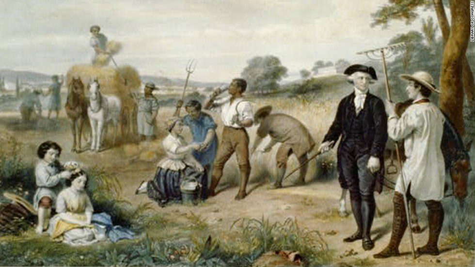 After choosing not to run for a third term, George Washington retired to his Virginia estate and led a life of farming.