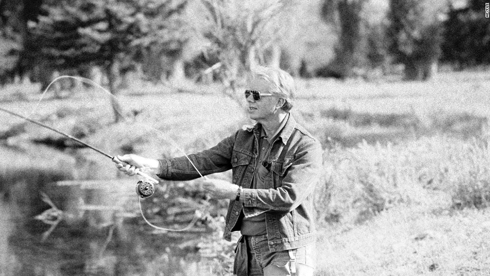 "Jimmy Carter and his wife, Rosalynn, began <a href=""http://www.nytimes.com/1991/05/04/sports/outdoors-in-fly-fishing-carter-s-record-can-t-be-assailed.html"" target=""_blank"">fly fishing</a> in Georgia in the early 1970s. Here, the 39th President fishes in Wyoming in 1978."