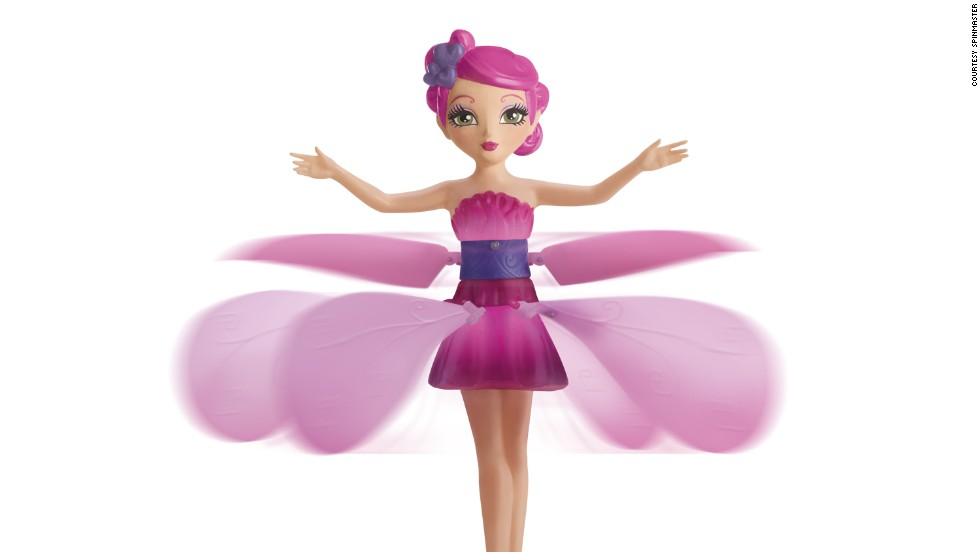 Looking for something a bit more delicate? How about a flying fairy that you control by moving your hand underneath it. It's high tech in shiny pink packaging. Toys 'R' Us and the UK Toy Retailers Association have named it as one of their hottest toys in 2013.<br /><em><br />Price: Around $29.99</em>