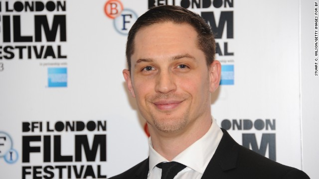 Tom Hardy attends the 57th BFI London Film Festival at Odeon West End in  October 2013 in London, England.