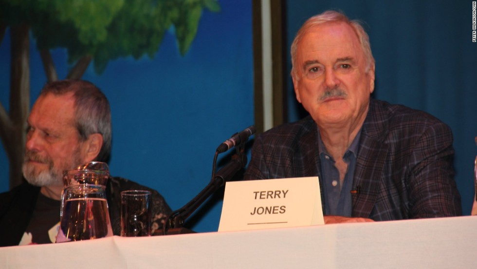 "Terry Gilliam, left, will be designing new animations for the show, but John Cleese said the poor state of his hips and knees would prevent him from performing the ""Ministry of Silly Walks"" sketch."