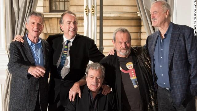 Monty Python announces reunion