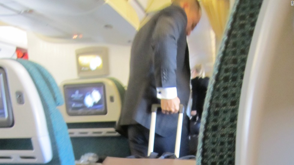 """Sir, is that a ... <em>carry-on</em>?"" Annoying behavior number seven: Wielding huge suitcases as carry-ons."