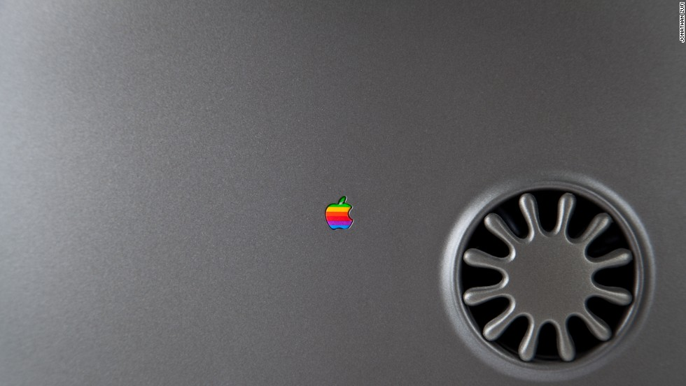 The limited-edition Twentieth Anniversary Macintosh was sold in 1997 to mark Apple's two decades of existence. It went for $7,499. As with many other products, Zufi focused on one small detail instead of photographing the whole product.