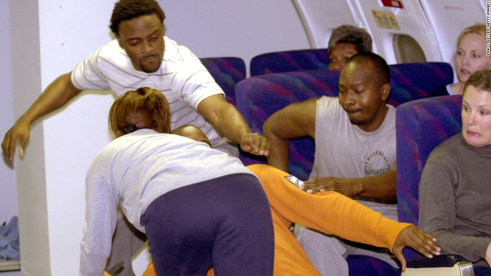 """He kicked my seat-back."" The top airplane irritant sometimes invites a violent response."