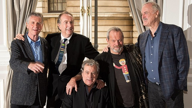 Monty Python reunites for one night only
