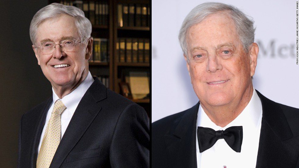 Analyzing the Koch brothers' influence