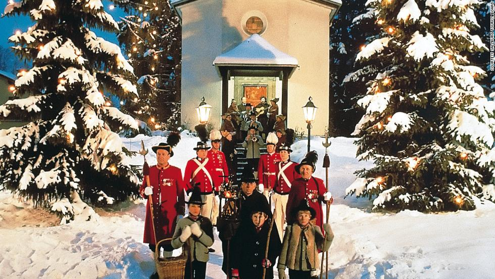 "With its snow-covered fortress and traditional markets, Salzburg is perfect for winter. ""Silent Night"" was first performed on the outskirts of town in 1818."