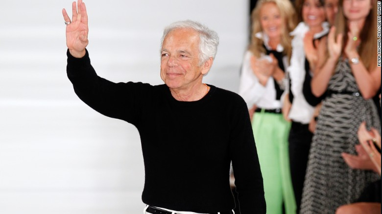 (CNN) Here\u0026#39;s a look at the life of American fashion designer and philanthropist Ralph Lauren.