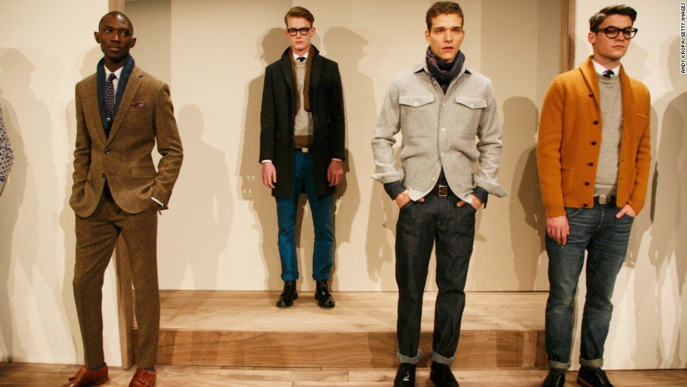 J.Crew is one retailer that helps Weiss outfit his Americana style.