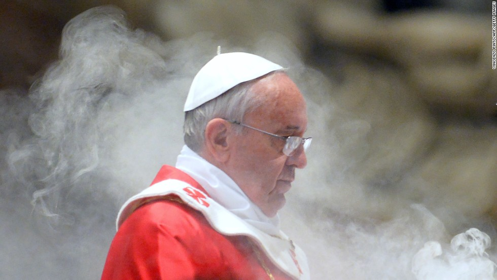 """Pope Francis is expected to lead a service at St. Peter's Basilica on Sunday marking the end of the """"Year of Faith"""" at which the relics will be shown to those present."""